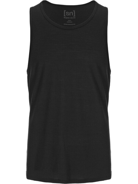 super.natural M's Base Tank 140 Jet Black